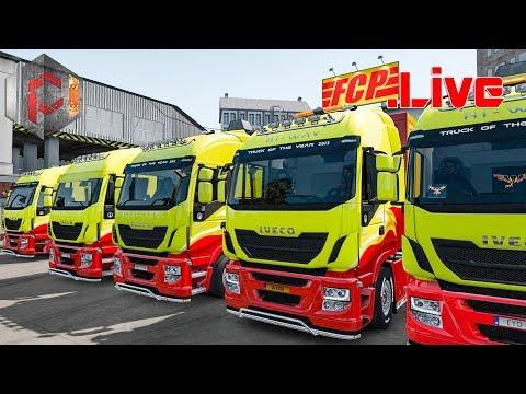 🔴 LIVE CONVOY IVECO MANIA Euro Truck Simulator 2 Indonesia MULTIPLAYER Graz-Szczecin EU1 - 동영상
