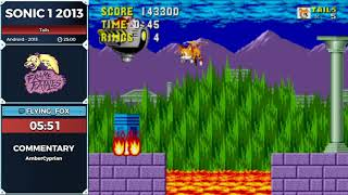 Sonic 1 2013 by Flying_fox in 20:12 - Frame Fatales 2019