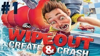 Wipeout: Create & Crash - Walkthrough - Part 1 - Ballsy's Boot Camp (X360) [HD]