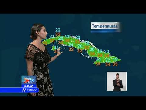 El tiempo en Cuba: sol y algunas nubes
