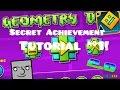 "Geometry Dash   ""The Vault"" Secret Achievement/Code Tutorial #1! (2.0)"