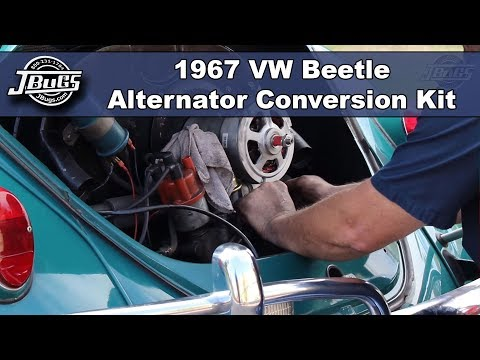 JBugs - 1967 VW Beetle - Alternator Conversion Kit Installation
