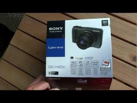 Sony DSC-HX20V camera test.