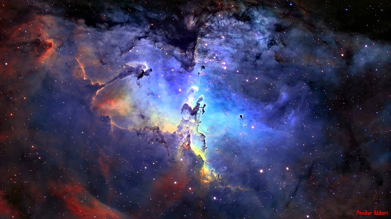 Breathtaking Nasa Hubble Space Hd Wallpapers: Eagle Nebula Best 3D Video Simulation You Ever Seen By