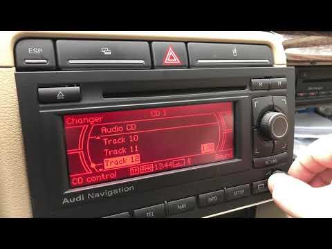 Navigatie MP3 AUDI B6/B7 OEM BNS 5.0 Pro + Magazie 6CD