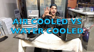 AIR COOLED VS WATER COOLED CONDENSING UNITS