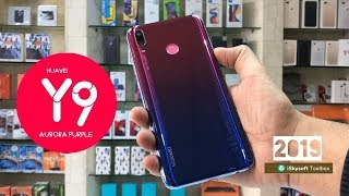HUAWEI Y9 2019 AURORA PURPLE UNBOXING AND REVIEW