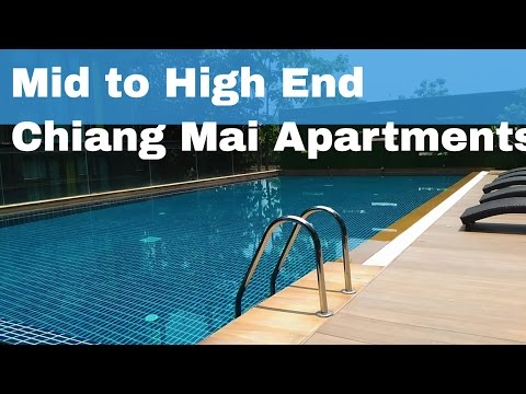 Apartments in Chiang Mai - Mid to high End (Pics, Prices, & Names) 2016