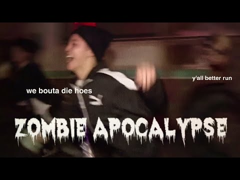 bts during a zombie apocalypse