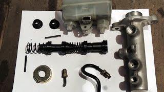 Как разобрать Главный Тормозной Цилиндр. Subaru Forester SF