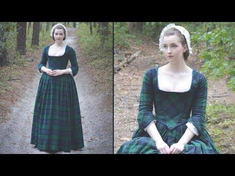 Making An Outlander Inspired Dress