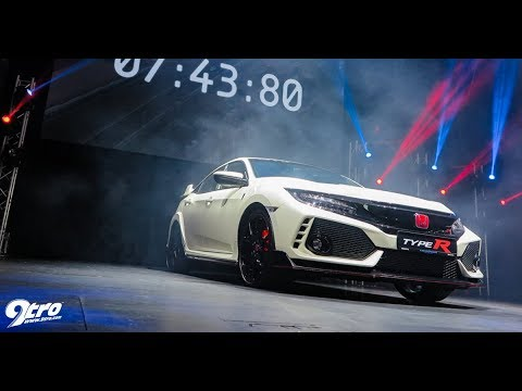 2017 Honda Civic Type R   Singapore Launch