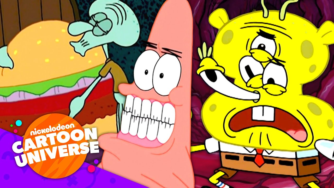 27 of SpongeBob's WEIRDEST Moments! 🥴 | Nickelodeon Cartoon Universe