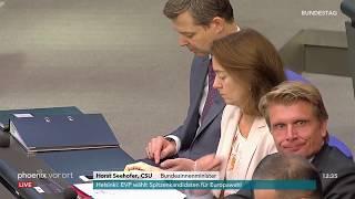 Bundestagsdebatte über gleichwertige Lebensverhältnisse in Deutschland am 07.11.18