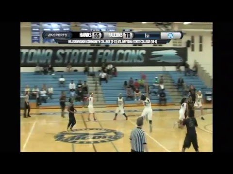 Hillsborough Community College vs. Daytona State College 1/16/16 Women's Basketball
