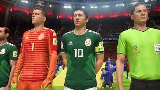 FIFA 18 -  Grupo B: Marruecos vs México Hibrido