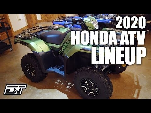 2020 Honda ATV Lineup Overview