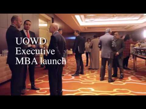 UOWD Executive MBA Program Launch