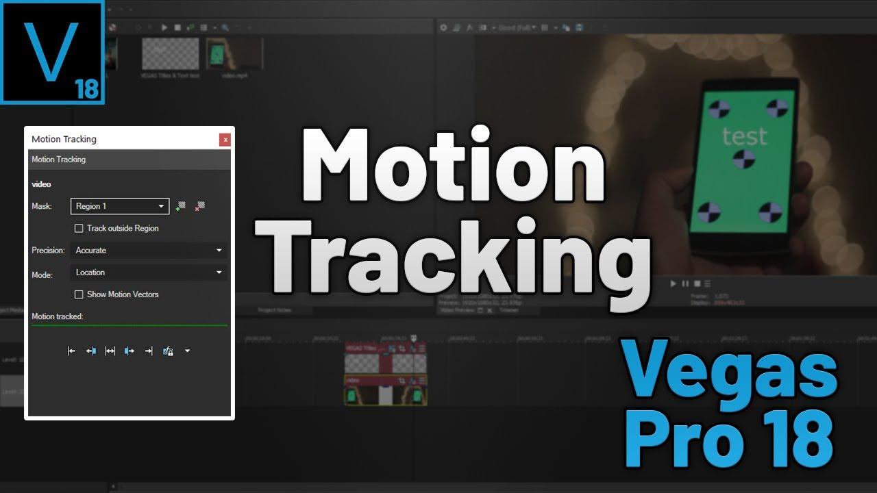 Vegas Pro 18 : Motion Tracking | شرح جديد سوني فيغاس 18