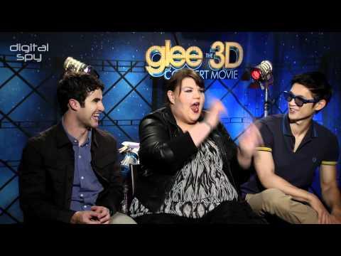 Stars chat Glee movie