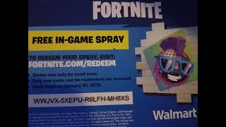 Free fortnite sprays giveaway