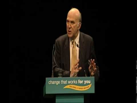 Vince Cable: Speech to Liberal Democrat Spring Conference 2010
