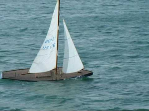 A Class radio controlled model yacht