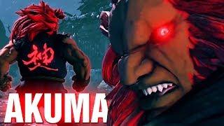 STREET FIGHTER V Fun with Akuma