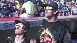 Baseball Hits an Eclipse