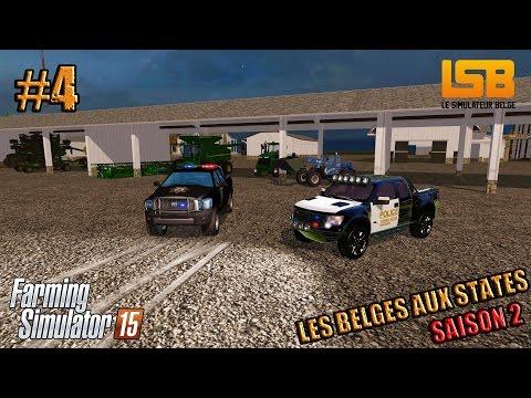 RôlePlay | Les Belges aux States #4 S2 | Le lendemain | Farming simulator 15