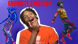 TOP 10 FAVORITE FORTNITE DANCES/EMOTES ( In real life)