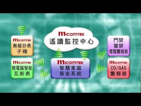 MICOMTEK微電腦智能瓦斯表 VS 整合型智慧家庭保全 暨 瓦斯保安服務系統