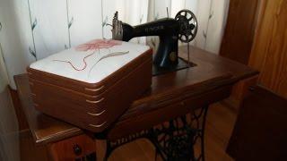 Caja Costura. Sewing box