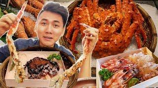 Ăn Sập Đài Loan #5: KING CRAB, SEA FOOD, SASHIMI |INSANE TAIWAN FOOD