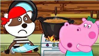 Гиппо Пеппа Сказки для детей: Белоснежка