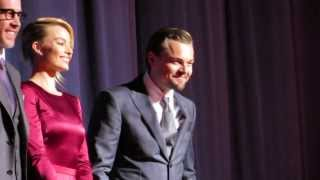 Leonardo DiCaprio & Margot Robbie at the UK premiere of 'The Wolf of Wall Street'
