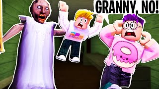 Can You Escape ROBLOX GRANNY!? (SCARY GAME)