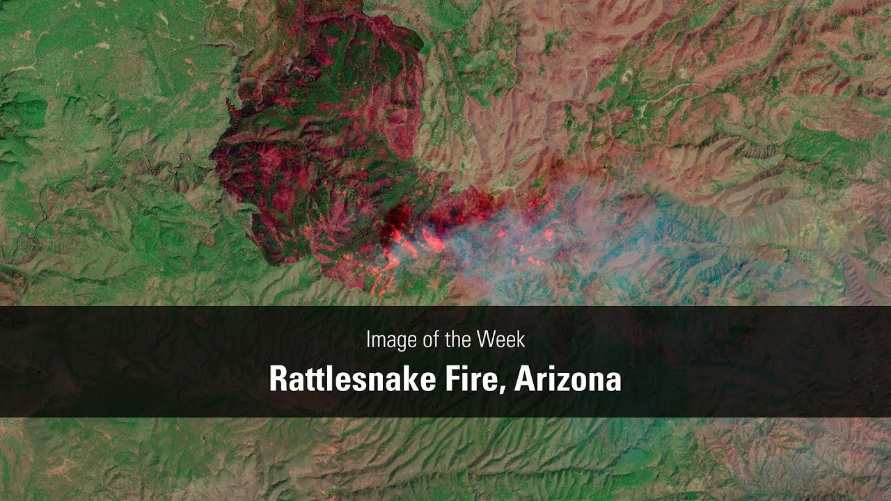Rattlesnake Fire, Arizona