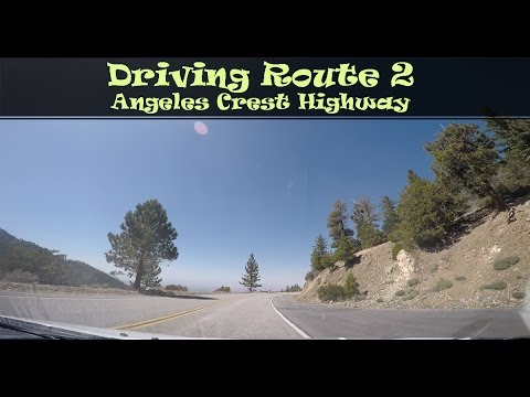 #121  Driving Route 2, Angeles Crest Highway (4/4)