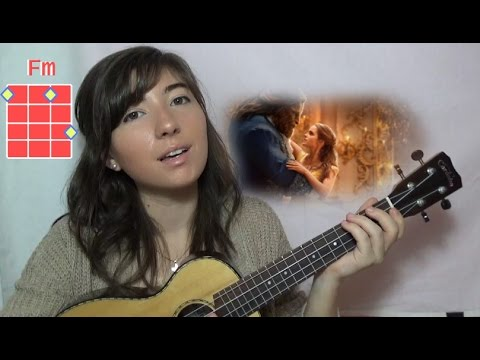 Beauty And The Beast Ukulele Tutorial Youtube