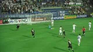 1  FC Slovácko - SK Slavia Praha gol na 1-2 BEKIM  BALAJ