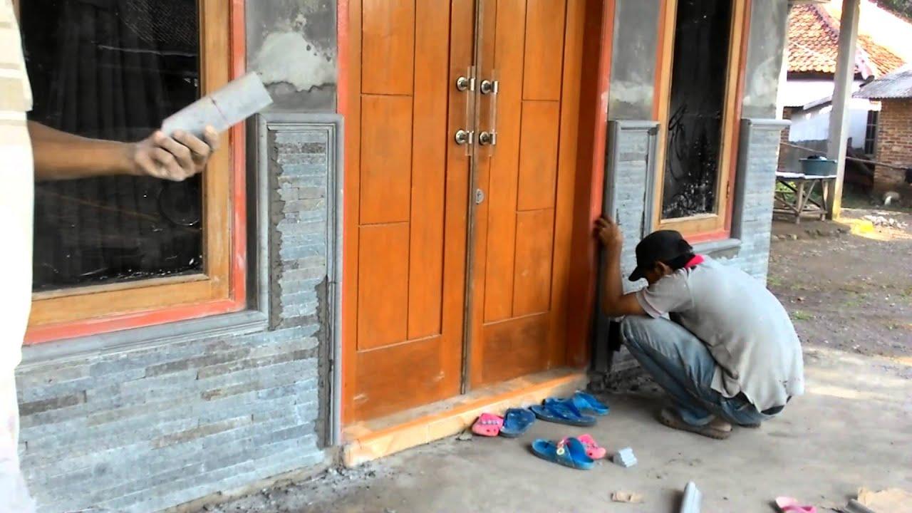 76 Koleksi Gambar Tiang Rumah Pakai Batu Alam HD