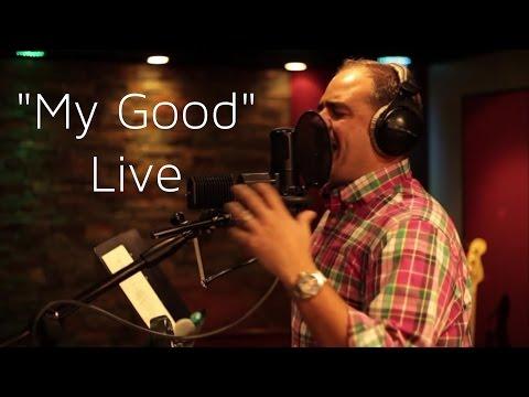 "Cortt Chavis singing ""My Good "" Live at Vanquish Studios"