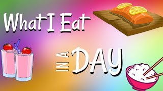 What I Eat In A Day | Nikki Stixx