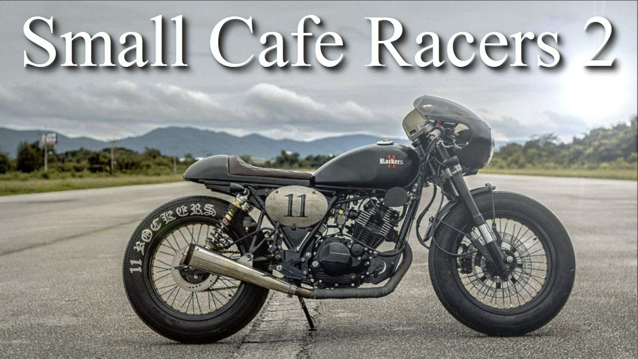 Small Cafe Racers 2 125cc Keeway