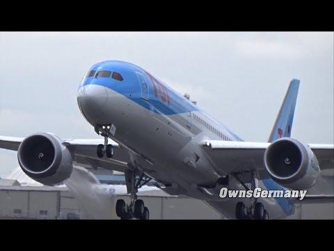 Thomson Airways Boeing 787-9 Dreamliner Delivery Flight @ KPAE Paine Field