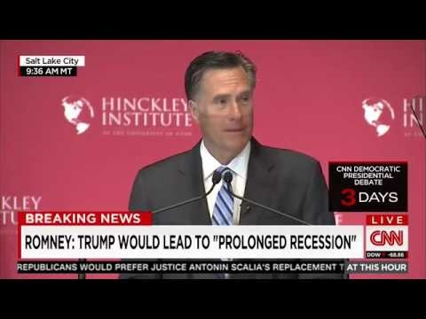 Romney Lays Out String of Failed Trump Ventures 'A Business Genius He Is Not'