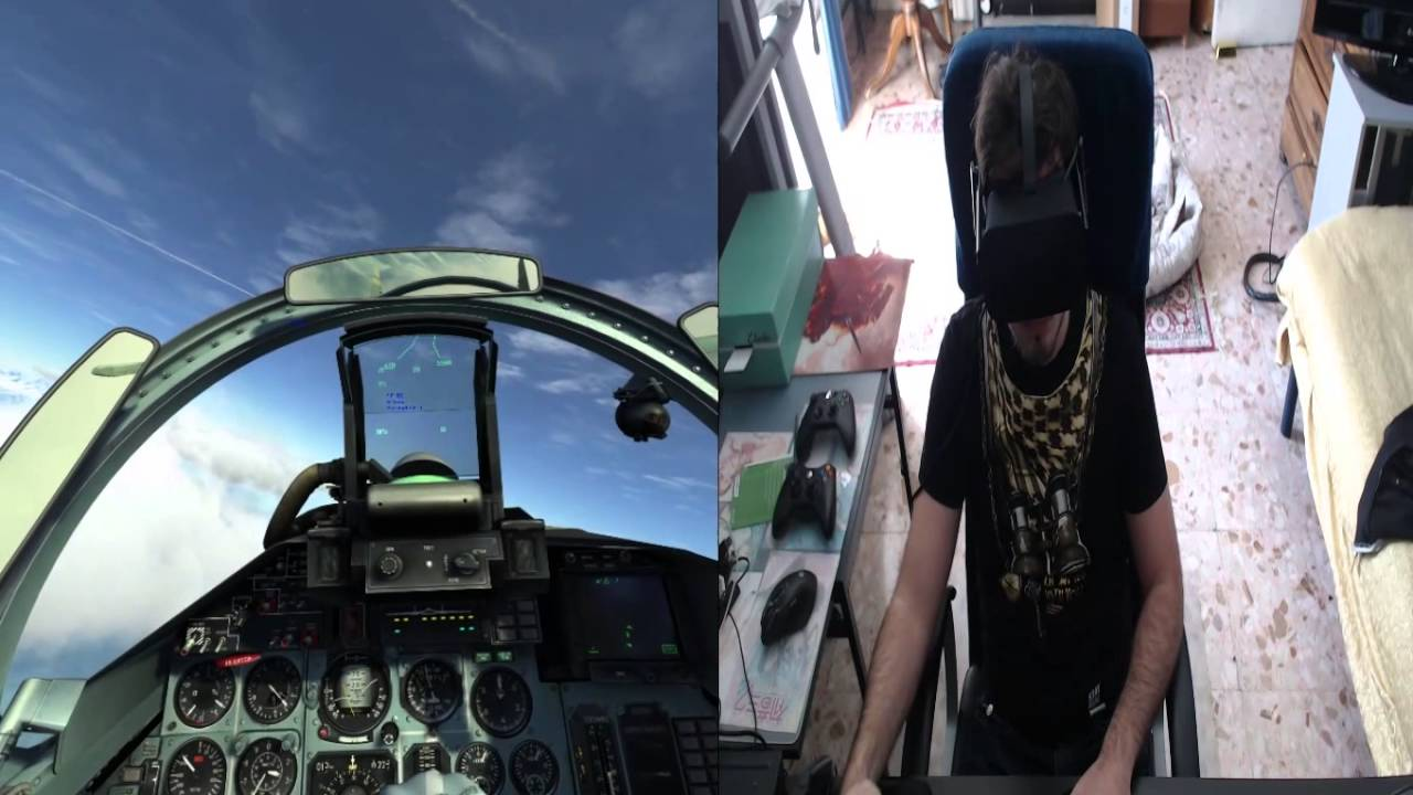 Oculus Rift CV1 - DCS SU-27 (Virtual Reality)