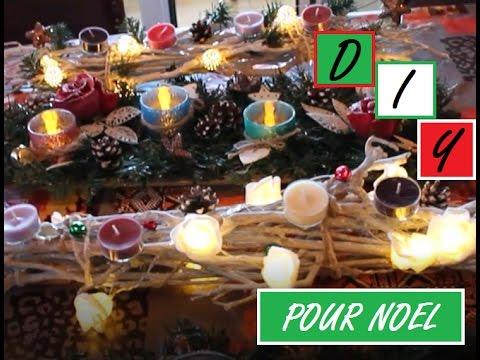 Diy Deco De Noel 1 Une Couronne De L Avent Moderne Youtube