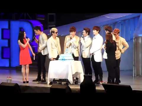 [Eng CC] SJM & The 5th Anniversary Cake, SJM Beijing Fan Party 130414 [FanCam]